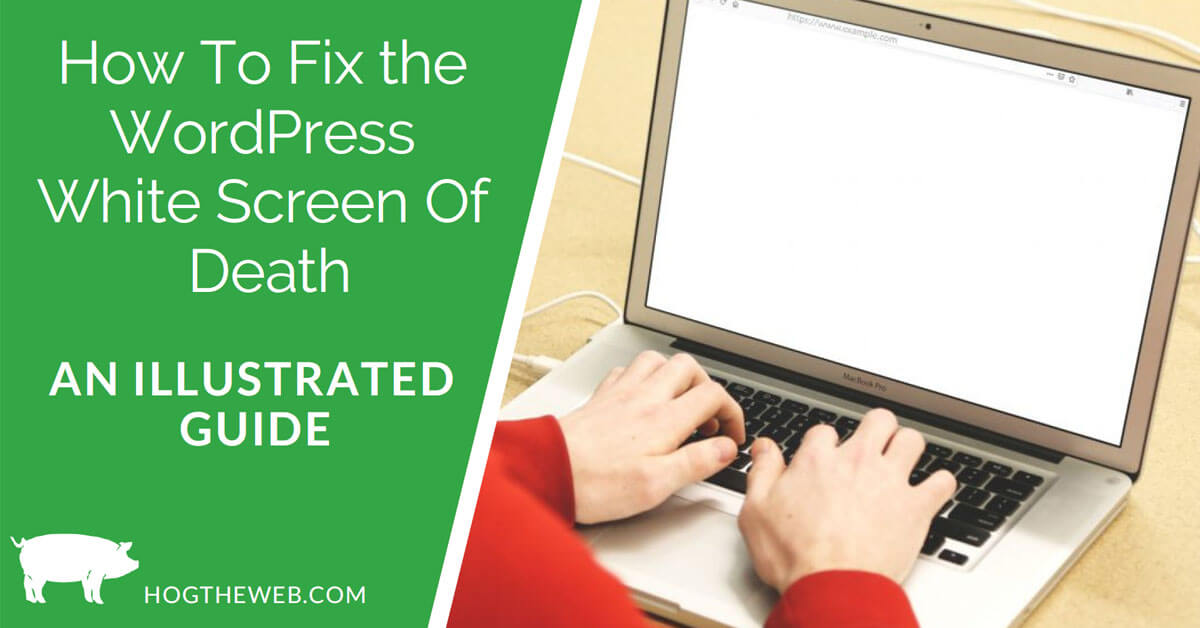 How To Fix The WordPress White Screen Of Death [An Illustrated Guide]