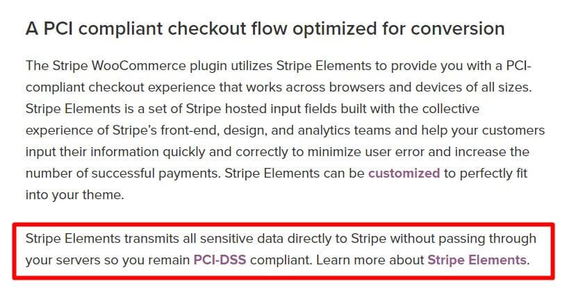 Woocommerce Stripe PCI Compliant