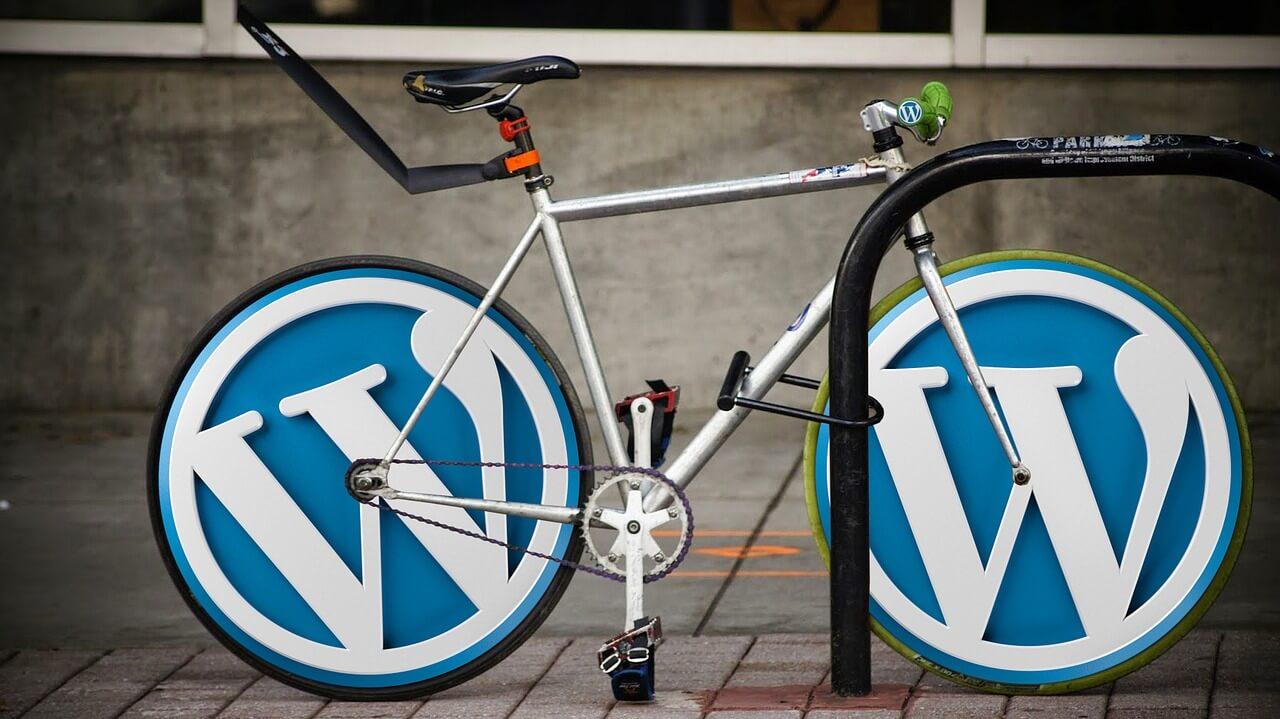 Bicycle With WordPress Wheels