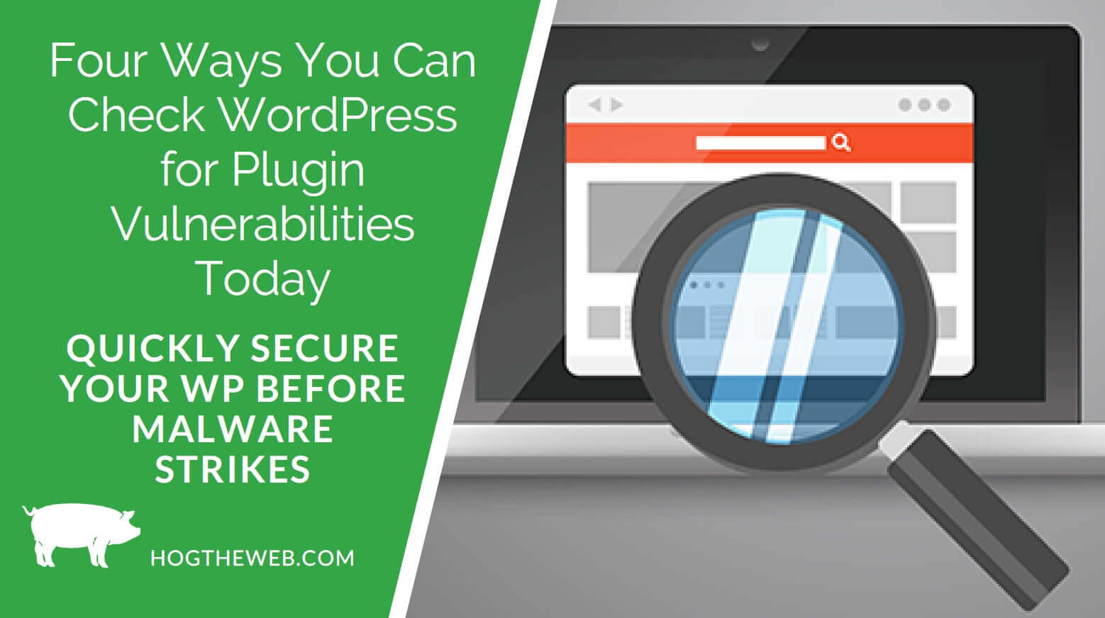 4 Ways You Can Check WordPress for Plugin Vulnerabilities Today