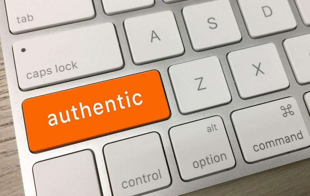 keyboard with orange authentic key