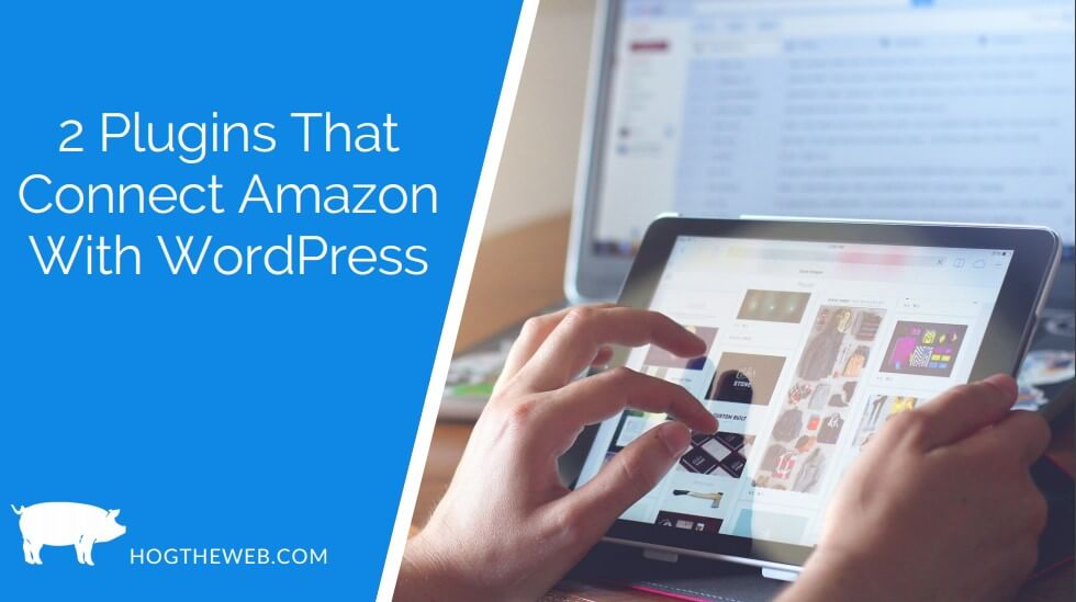 2 Plugins That Connect Amazon With WordPress